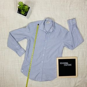 THOMAS MASON J. CREW Blue ludlow dress shirt